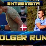 """Holger Rune: """"Tener la oportunidad de jugar los ATP de Buenos Aires y Santiago me ha servido para mejorar como tenista''"""