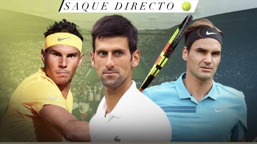 Federer, Nadal & Djokovic. La eterna lucha por ser el mejor de todos los tiempos.