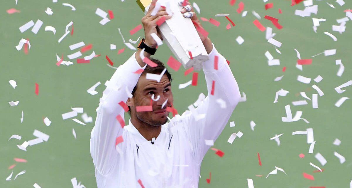 Rafa Nadal preparado para defender título en el Masters 1000 de Canadá