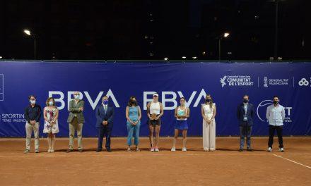 Martina trevisan se lleva el título tras una semana fantástica en valencia